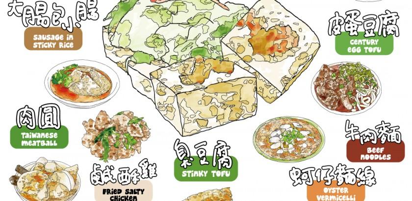 台灣小吃紙膠帶扭蛋機